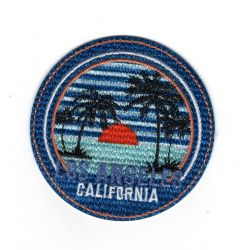 Patch Ecusson Thermocollant Los Angeles Californie 6 x 6 cm