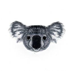 Patch Ecusson Thermocollant Tête de koala 3 x 6 cm