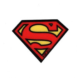 Patch Ecusson Superman A 4,50 x 6 cm