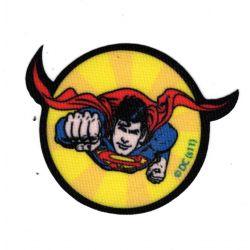 Patch Ecusson Superman B 5,50 x 7 cm