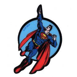 Patch Ecusson Superman C 5,50 x 9 cm