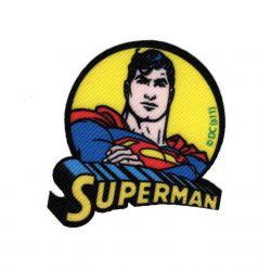 Patch Ecusson Thermocollant Superman D 5,50 x 5,50 cm