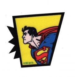 Patch Ecusson Thermocollant Superman E 6 x 6 cm