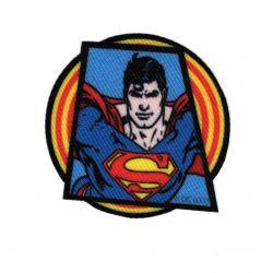 Patch Ecusson Thermocollant Superman G 6 x 6 cm