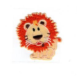 Patch Ecusson Thermocollant Le lion 5 x 5 cm