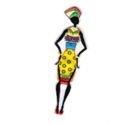 Ecusson Thermocollant SILHOUETTE AFRICAINE B