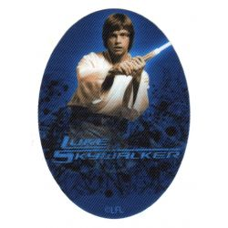 Ecusson thermocollant Luke Skywalker Star Wars 8 x 11 cm